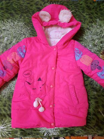 Красивая курточка  на девочку