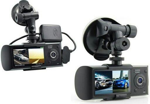 Kamera Samochodowa Rejestrator DUAL GPS R300