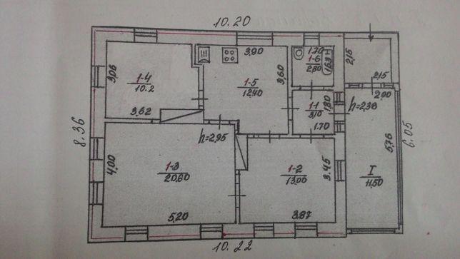 Продам дом в центре Таращи