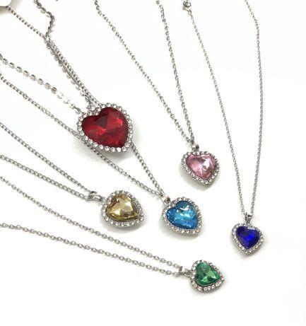 Кулон, сердце океана, подарок девушке , 8 марта, день влюблённых