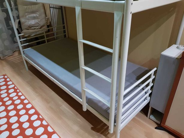 Łóżko piętrowe IKEA cena 200 zł bez materacy.