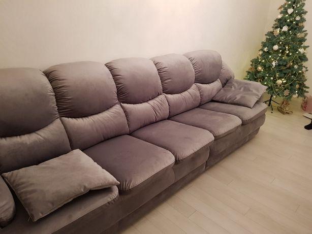 Перетяжка диванов любой модели и сложности/перетяжка мебели