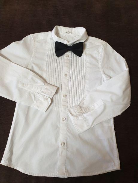 Рубашка+бабочка H&M,размер 7-8 лет.и 8-9 лет новая