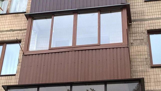 Балкони та вікна