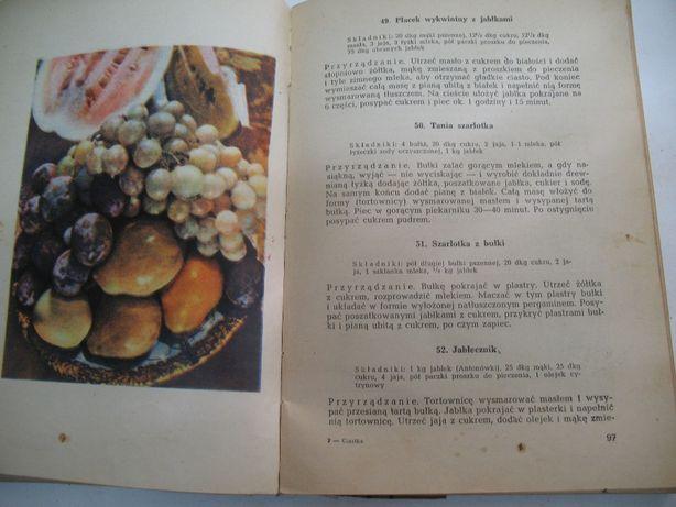 książka ciasto ciastka ciasteczka 58 r. 300 stron