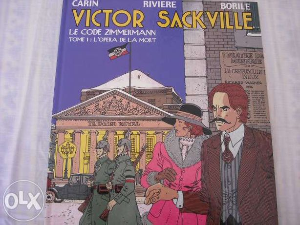 Victor Sackville -Le code Zimmermann -L'opera de la mort