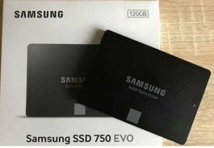 Продам SSD накопитель Samsung 750 EVO MZ-750120BW. Как новый!