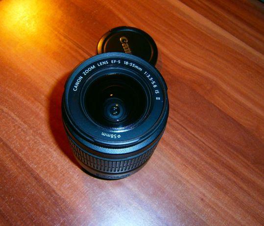 Объектив Canon EF-S 18-55mm 1:3.5-5.6 IS II