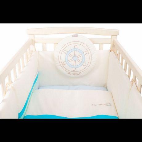 Бортики для детской кроватки. Бампер/защита для кроватки.