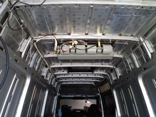 Установка штатного и доп кондиционер на Спринтер 906, Крафтер