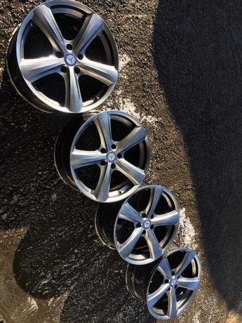 Jantes 18 5x112 com pneus VW MERCEDES AUDI