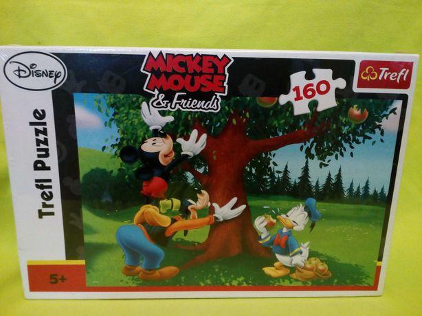 Puzzle Trefl Disney Mickey mouse, 160 klocków, NOWE