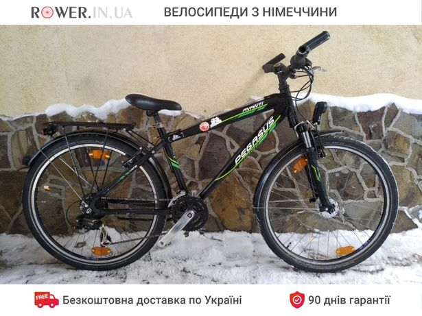 Німецький велосипед алюмінієвий бу Pegasus Avanti 26 / Велосипеды