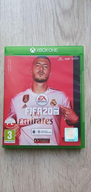 Gra Xbox one fifa20 idealna fifa 20