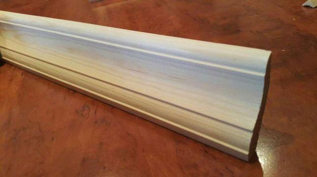 Listwa 30x60 mm przypodłogowa drewniana  do podłogi