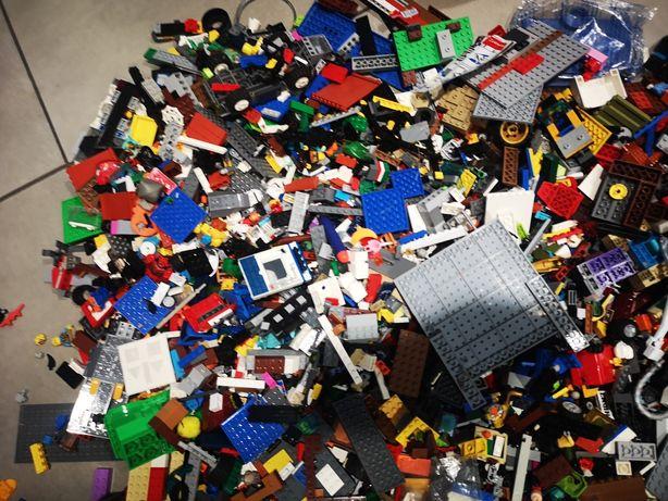 Klocki Lego - różne prawie 9 kg