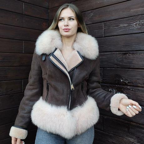 Дубленка fendi натуральная дубленка мода 2020  дубляж