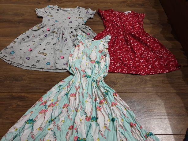 Sukienka 110/116 hm