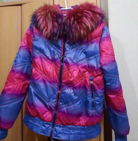 Куртка зимняя теплая