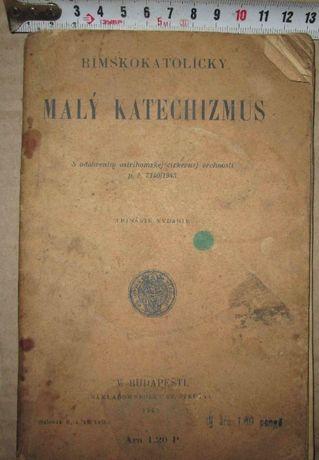 Малый катехизис римокат. Будапешт 1943 г. 129 стр.