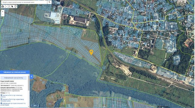 Продам земельну ділянку для садівництва в с. Воля-Висоцька