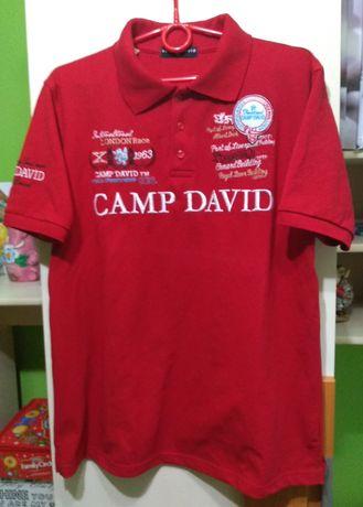 Męska koszulka polo Camp David rozm XL