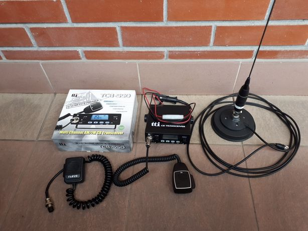 CB radio tti TCB-550 + antena Sirio Omega