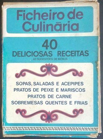 ficheiro de culinária / 40 deliciosas receitas