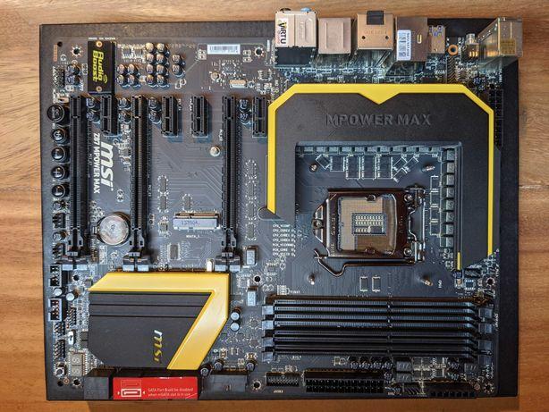 Motherboard MSI Z87 MPower Max LGA 1150