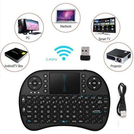 Z174 Mini Teclado wireless Touchpad PC Android Smart TV Kodi Novo!