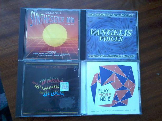 CD 4 szt. muzyka