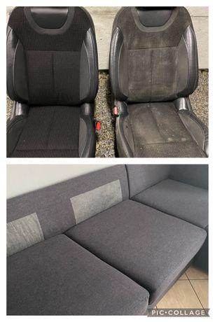 Pranie tapicerek samochodowych, kanap, dywanów