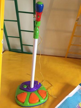 Музыкальный детский микрофон