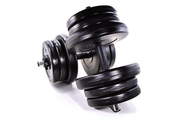 Гантели  2х21 кг (42кг) Разборные Гантелі