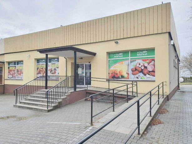 Budynek usługowy/handlowy po markecie spożywczym