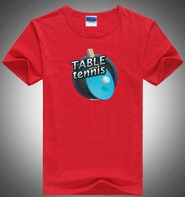 футболка с надписью настольный теннис размер L