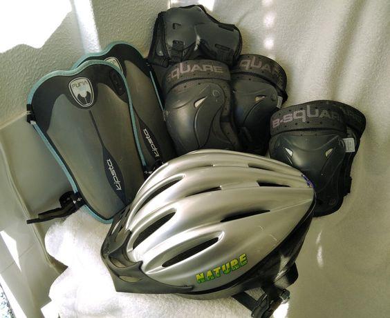 Proteções para bike