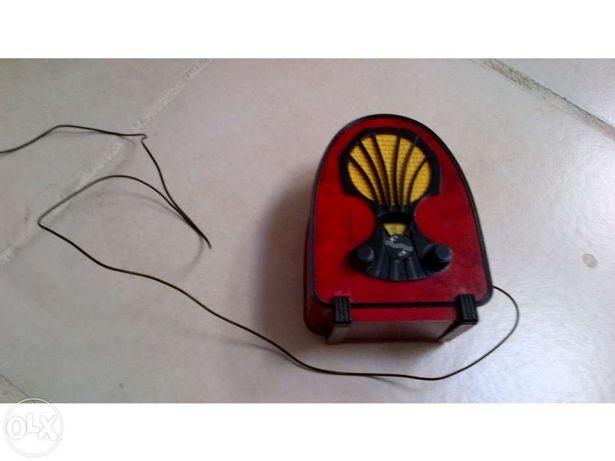 Réplica de rádio antigo philips