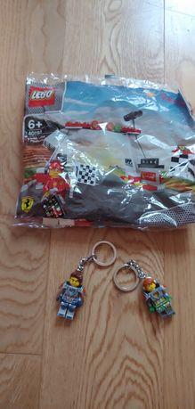 Lego Knights breloki i paczuszka Lego . Nowe.