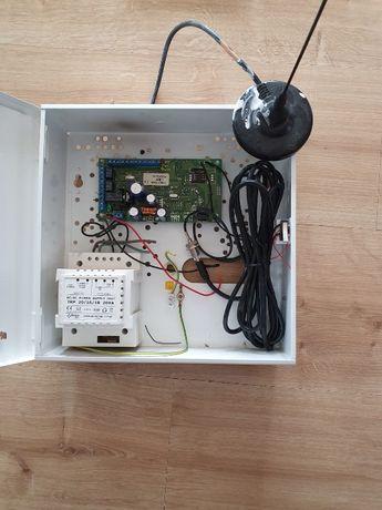 System GPRS antena, zasilacz, skrzynka