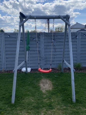 Huśtawka ogrodowa dla dzieci - 2 siedziska