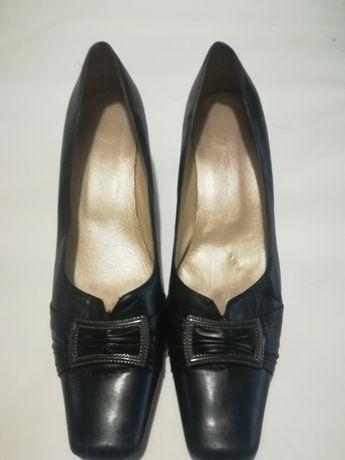 Кожаные туфли (стелька 30см)