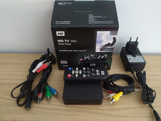 Leitor Multimédia - Western Digital Mini TV Player