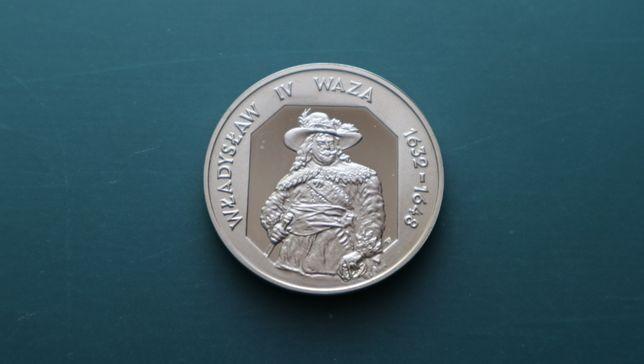 Monety kolekcjonerskie Wł.IV Waza 1999 rok. 10 zł.