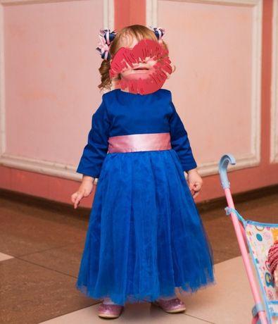 Нарядное платье (на 1-2 года)