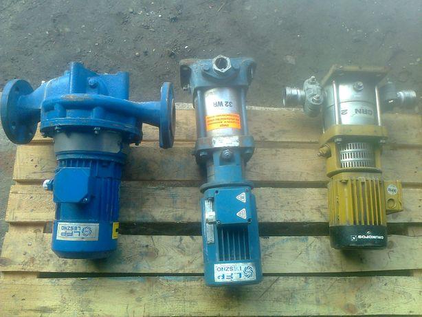 """Pompa do wody """"Grundfos"""" """"Leszczyńska"""" silnik 0,55kw, 1,1kw 2900 obr"""