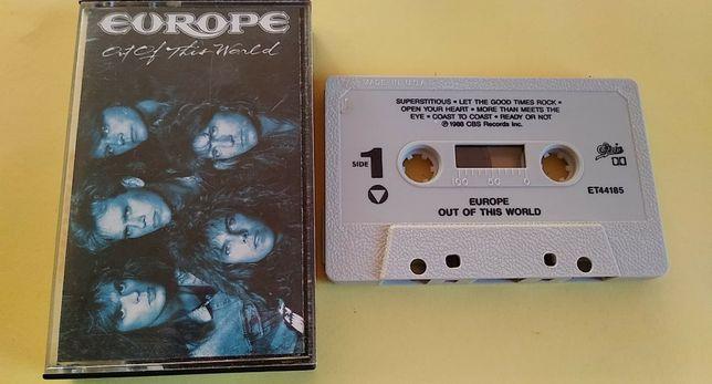 Europe – Out Of This World, 1988 USA kaseta magnetofonowa