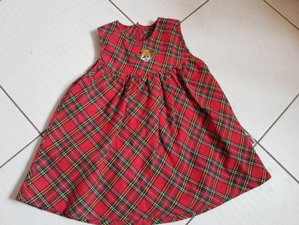 Sukienka dla dziewczynki rozmiar 80 jak nowa