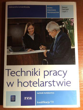 Techniki pracy w hotelarstwie, technik hotelarstwa