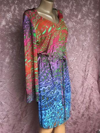 Стильное платье два в одном CAROLINE BISS оригинал 44